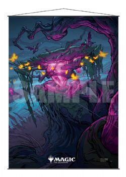 MAGIC THE GATHERING -  IKORIA - LAIR OF THE BEHEMOTHS - BANNIÈRE - INDATHA TRIOME - 40 X 92 CM