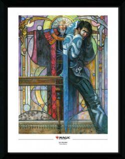 MAGIC: THE GATHERING -  IMAGE ENCADRÉE - JACE BELEREN (34.5 CM X 44.5 CM)