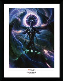 MAGIC: THE GATHERING -  IMAGE ENCADRÉE - NICOL BOLAS, DRAGON-DIEU (34.5 CM X 44.5 CM)
