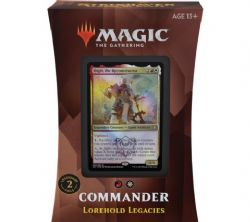 MAGIC THE GATHERING -  LOREHOLD LEGACIES - COMMANDER DECK (ANGLAIS) -  STRIXHAVEN SCHOOL OF MAGES