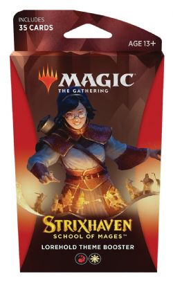 MAGIC THE GATHERING -  LOREHOLD THEME BOOSTER (ANGLAIS) (35) -  STRIXHAVEN SCHOOL OF MAGES