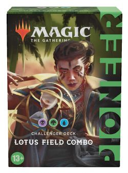 MAGIC THE GATHERING -  LOTUS FIELD COMBO (ANGLAIS) -  PIONEER CHALLENGER DECK 2021