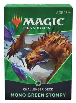 MAGIC THE GATHERING -  MONO GREEN STOMPY -  CHALLENGER DECKS 2021