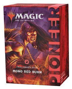 MAGIC THE GATHERING -  MONO-RED BURN (ANGLAIS) -  PIONEER CHALLENGER DECK 2021