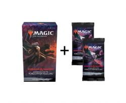MAGIC THE GATHERING -  PACK DE PRERELEASE + 2 DRAFT BOOSTERS (ANGLAIS) -  ADVENTURES IN THE FORGOTTEN REALMS