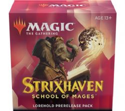 MAGIC THE GATHERING -  PACK DE PRERELEASE - LOREHOLD -  STRIXHAVEN SCHOOL OF MAGES