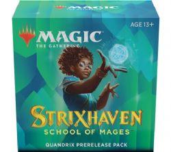 MAGIC THE GATHERING -  PACK DE PRERELEASE - QUANDRIX -  STRIXHAVEN SCHOOL OF MAGES