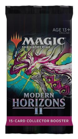 MAGIC THE GATHERING -  PAQUET BOOSTER COLLECTOR (P17/B12/C24) (ANGLAIS) -  MODERN HORIZONS II