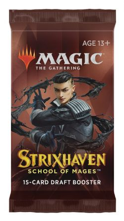 MAGIC THE GATHERING -  PAQUET BOOSTER DRAFT (P15/B36/C6) (ANGLAIS) -  STRIXHAVEN SCHOOL OF MAGES