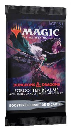 MAGIC THE GATHERING -  PAQUET BOOSTER DRAFT (P15/B36/C6) (FRANÇAIS) -  FORGOTTEN REALMS : AVENTURES DANS LES ROYAUMES OUBLIÉS