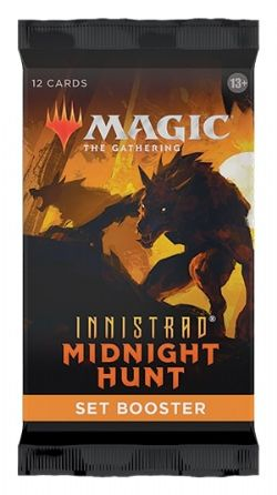 MAGIC THE GATHERING -  PAQUET BOOSTER SET (P12/B30/C6) (ANGLAIS) -  INNISTRAD MIDNIGHT HUNT