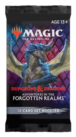 MAGIC THE GATHERING -  PAQUET BOOSTER SET (P15/B30/C6) (ANGLAIS) -  ADVENTURES IN THE FORGOTTEN REALMS