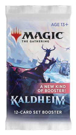 MAGIC THE GATHERING -  PAQUET BOOSTER SET (P15/B30/C6) (ANGLAIS) -  KALDHEIM