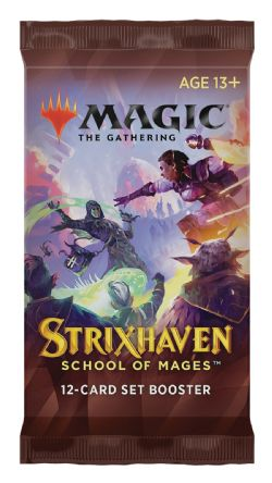 MAGIC THE GATHERING -  PAQUET BOOSTER SET (P15/B30/C6) (ANGLAIS) -  STRIXHAVEN SCHOOL OF MAGES