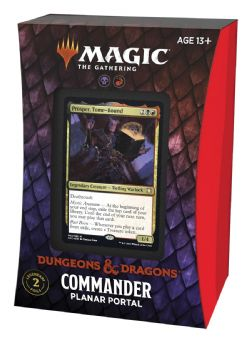 MAGIC THE GATHERING -  PLANAR PORTAL - COMMANDER DECK (ANGLAIS) -  ADVENTURES IN THE FORGOTTEN REALMS