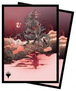 MAGIC THE GATHERING -  POCHETTES TAILLE STANDARD - ARLINN, THE MOON'S FURY (100) -  INNISTRAD MIDNIGHT HUNT