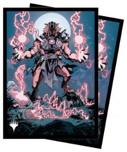 MAGIC THE GATHERING -  POCHETTES TAILLE STANDARD - STORM-CHARGED SLASHER (100) -  INNISTRAD MIDNIGHT HUNT