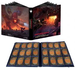 MAGIC THE GATHERING -  PORTFOLIO 12 POCHETTES (20 PAGES) -  ADVENTURES IN THE FORGOTTEN REALMS