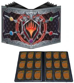 MAGIC THE GATHERING -  PORTFOLIO 9 POCHETTES - D&D ADVENTURE IN THE FORGOTTEN REALMS (20 PAGES) -  ADVENTURES IN THE FORGOTTEN REALMS
