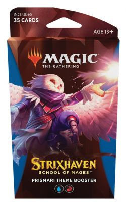 MAGIC THE GATHERING -  PRISMARI THEME BOOSTER (ANGLAIS) (35) -  STRIXHAVEN SCHOOL OF MAGES