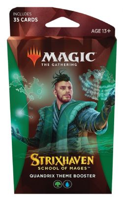 MAGIC THE GATHERING -  QUANDRIX THEME BOOSTER (ANGLAIS) (35) -  STRIXHAVEN SCHOOL OF MAGES