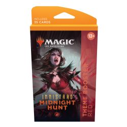 MAGIC THE GATHERING -  RED THEME BOOSTER (ANGLAIS) (35) -  INNISTRAD MIDNIGHT HUNT