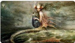 MAGIC THE GATHERING -  SURFACE DE JEU - SVYELUN, GOD OF THE SEA AND SKY -  MODERN HORIZON II