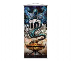 MAGIC THE GATHERING -  THEROS BEYOND DEATH - MEDOMAIS PROPHECY WALLSCROLL (41 X 95 CM)