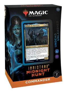 MAGIC THE GATHERING -  UNDEAD UNLEASHED - COMMANDER DECK (ANGLAIS) -  INNISTRAD MIDNIGHT HUNT