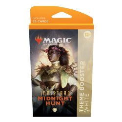 MAGIC THE GATHERING -  WHITE THEME BOOSTER (ANGLAIS) (35) -  INNISTRAD MIDNIGHT HUNT