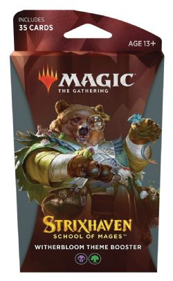 MAGIC THE GATHERING -  WITHERBLOOM THEME BOOSTER (ANGLAIS) (35) -  STRIXHAVEN SCHOOL OF MAGES