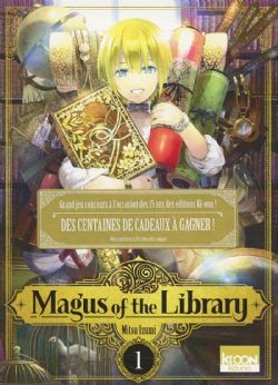 MAGUS OF THE LIBRARY -  (V.F.) 01