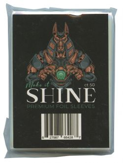 MAKE IT SHINE -  PREMIUM FOIL SLEEVES (50CT) - TAILLE STANDARD