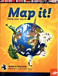 MAP IT! -  WORLD EDITION (ANGLAIS)