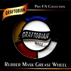 MAQUILLAGE EFFETS SPECIAUX -  RUBBER MASK GREASE WHEEL