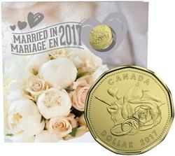 MARIAGES -  ENSEMBLE CADEAU POUR MARIAGE 2017 -  PIÈCES DU CANADA 2017 14