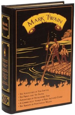 MARK TWAIN -  FIVE NOVELS HC