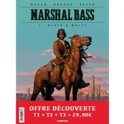 MARSHAL BASS -  PAQUET DÉCOUVERTE TOME 01 À 03