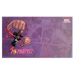 MARVEL CHAMPIONS: THE CARD GAME -  GAME MAT MS. MARVEL (61CM X 30CM)