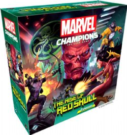 MARVEL CHAMPIONS : THE CARD GAME -  THE RISE OF RED SKULL (ANGLAIS)
