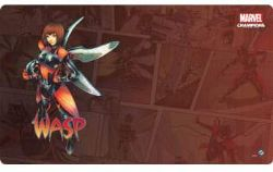MARVEL CHAMPIONS : THE CARD GAME -  WASP GAME MAT (61CM X 30CM)