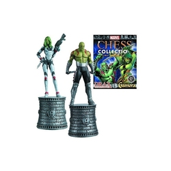 MARVEL CHESS COLLECTION -  DRAX & GAMORA (MAGAZINE ET FIGURINE) -  SPECIAL COLLECTION