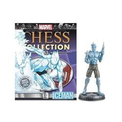 MARVEL CHESS COLLECTION -  ICEMAN (MAGAZINE ET FIGURINE) 52