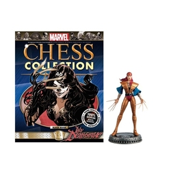 MARVEL CHESS COLLECTION -  LADY DEATHSTRIKE (MAGAZINE ET FIGURINE) 46