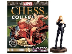 MARVEL CHESS COLLECTION -  LADY MASTERMIND (MAGAZINE ET FIGURINE) 63