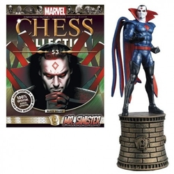MARVEL CHESS COLLECTION -  MR SINISTER (MAGAZINE ET FIGURINE) 53