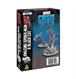 MARVEL : CRISIS PROTOCOL -  SPIDER-MAN & BLACK CAT (ANGLAIS)