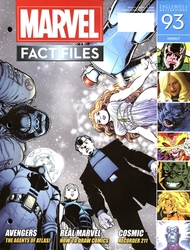 MARVEL FACT FILES COLLECTION -  AGENTS OF ATLAS COVER 093