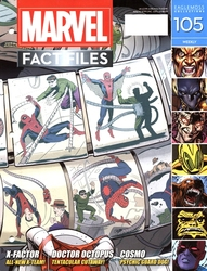 MARVEL FACT FILES COLLECTION -  SPIDER-MAN VS DOCTOR OCTOPUS COVER 105