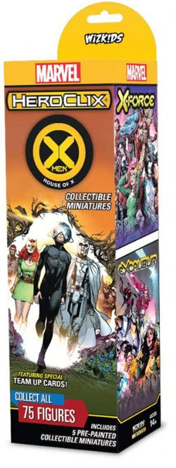MARVEL -  MARVEL HEROCLIX HOUSE OF X BOOSTER